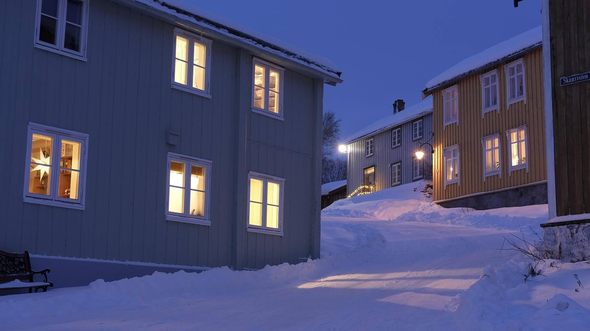 Skansveien på Røros. Foto: Tom Gustavsen