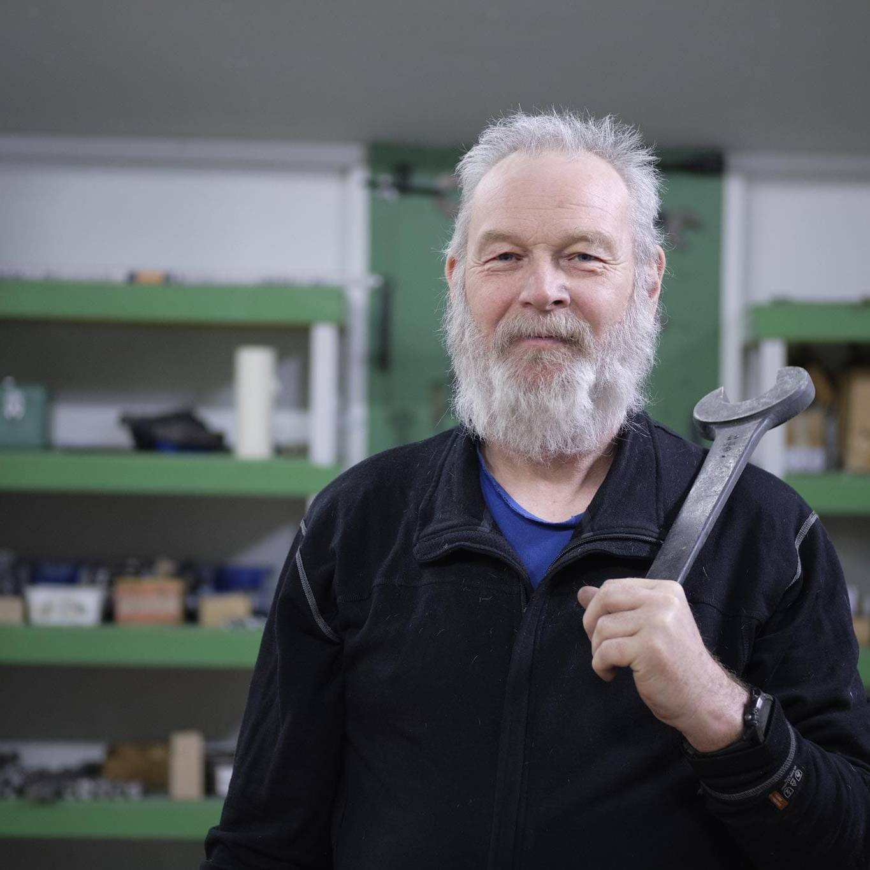 Jon Bjørnar Engan, Energioperatør. Foto: Tom Gustavsen