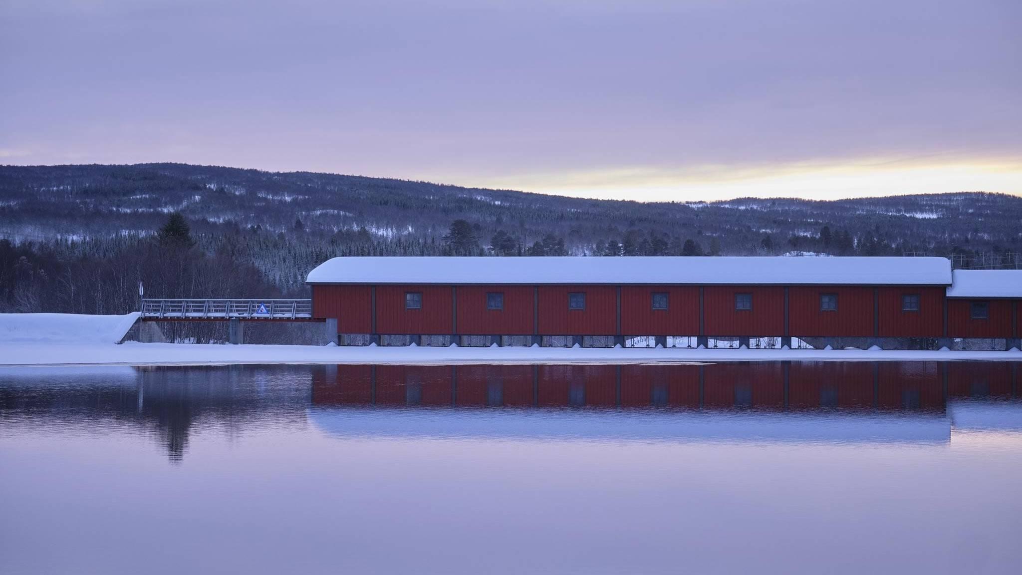 Kuråsfossen. Foto: Tom Gustavsen