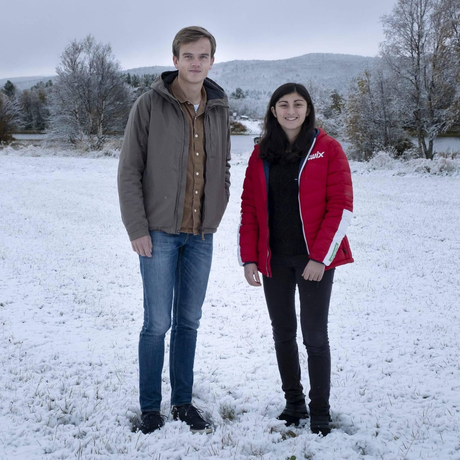 Esten og Laure. Foto: