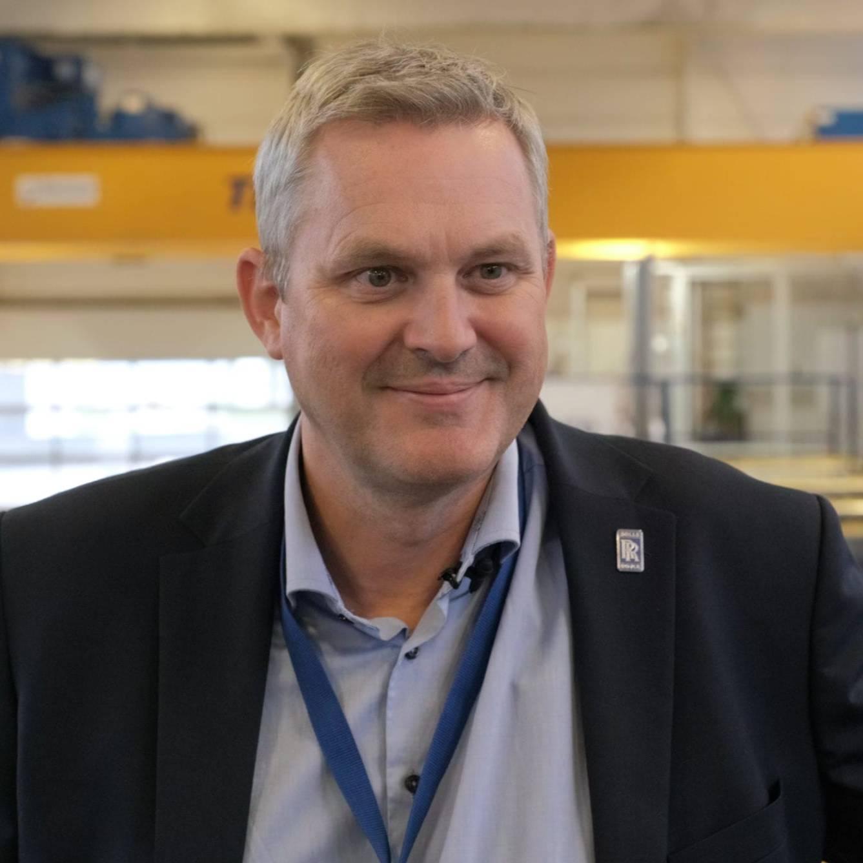 Dr.Ing. Sigurd Øvrebø, administrerende direktør, Rolls-Royce Electric Norway.