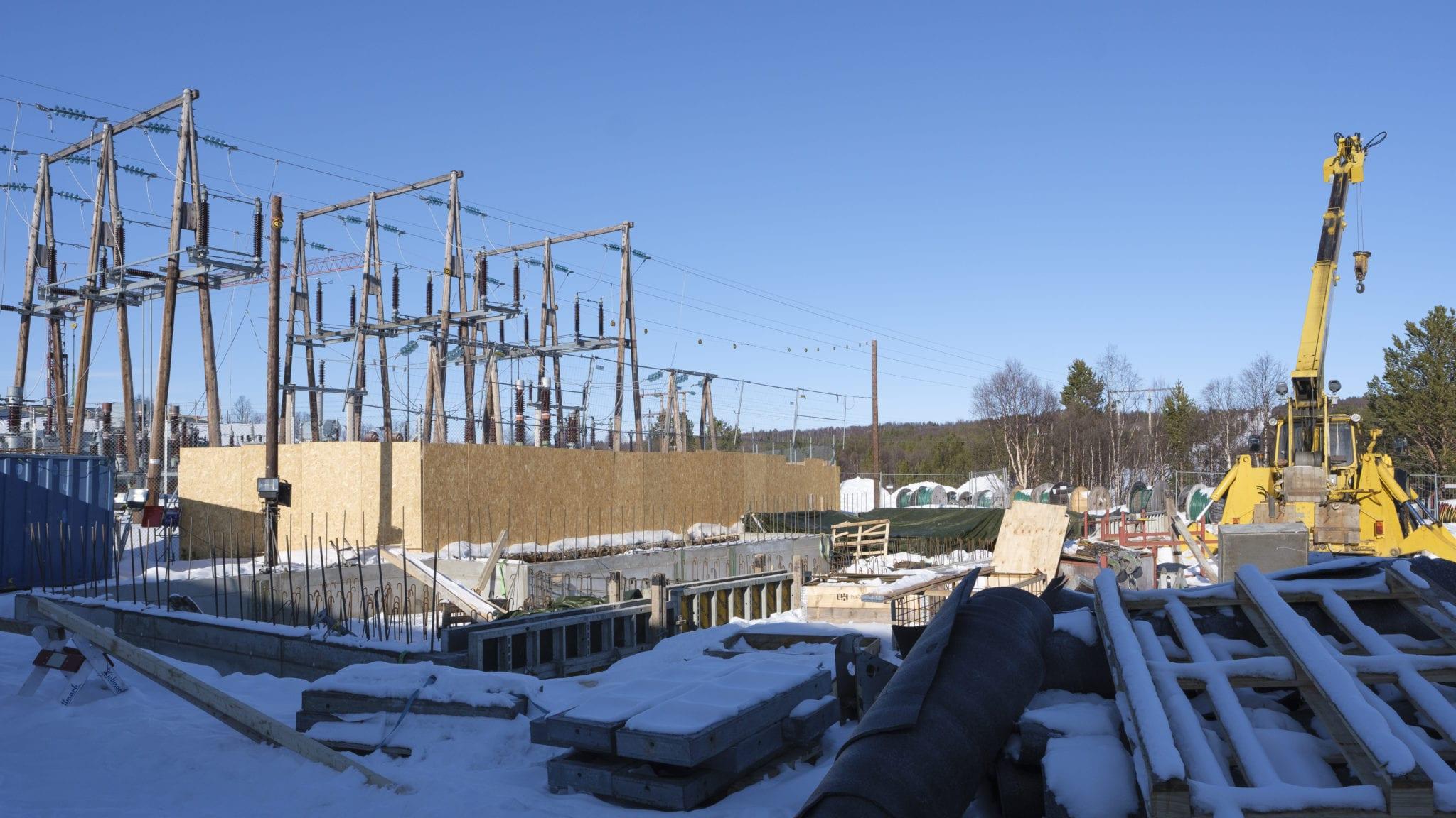 Ren Røros bruker 80 millioner kroner på oppgradering av kraftlinjen fra Tolga til Røros, og det er konsernets største investering noensinne. Foto: Ren Røros Frontal