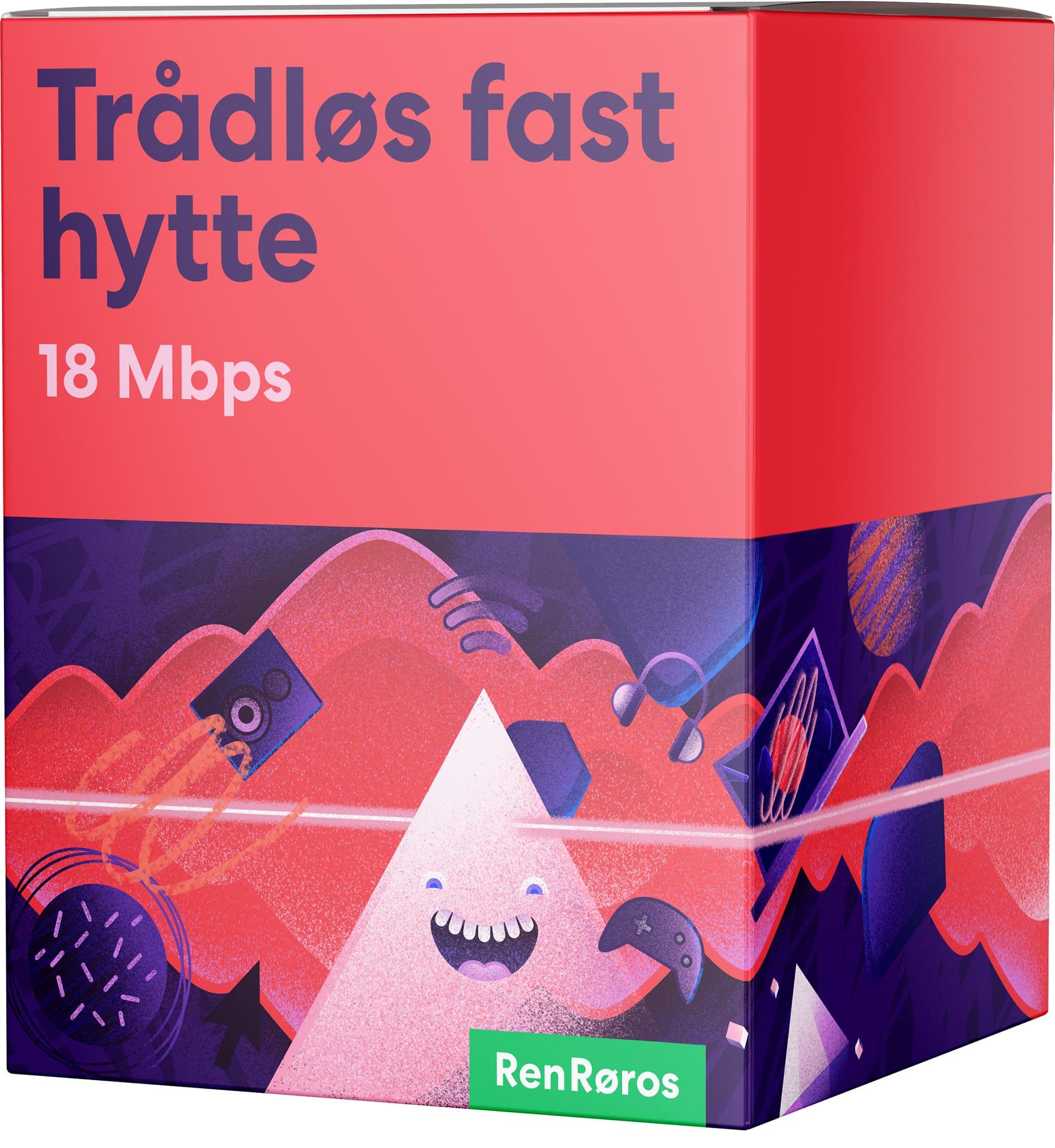 Trådløs Fast 18/4 Mbps.