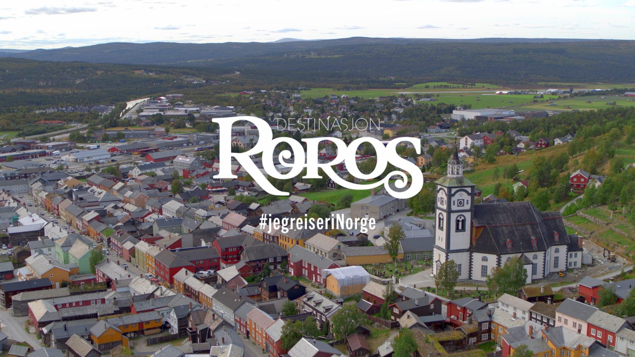 Destinasjon Røros: Jeg reiser i Norge. Foto: Ren Røros Frontal