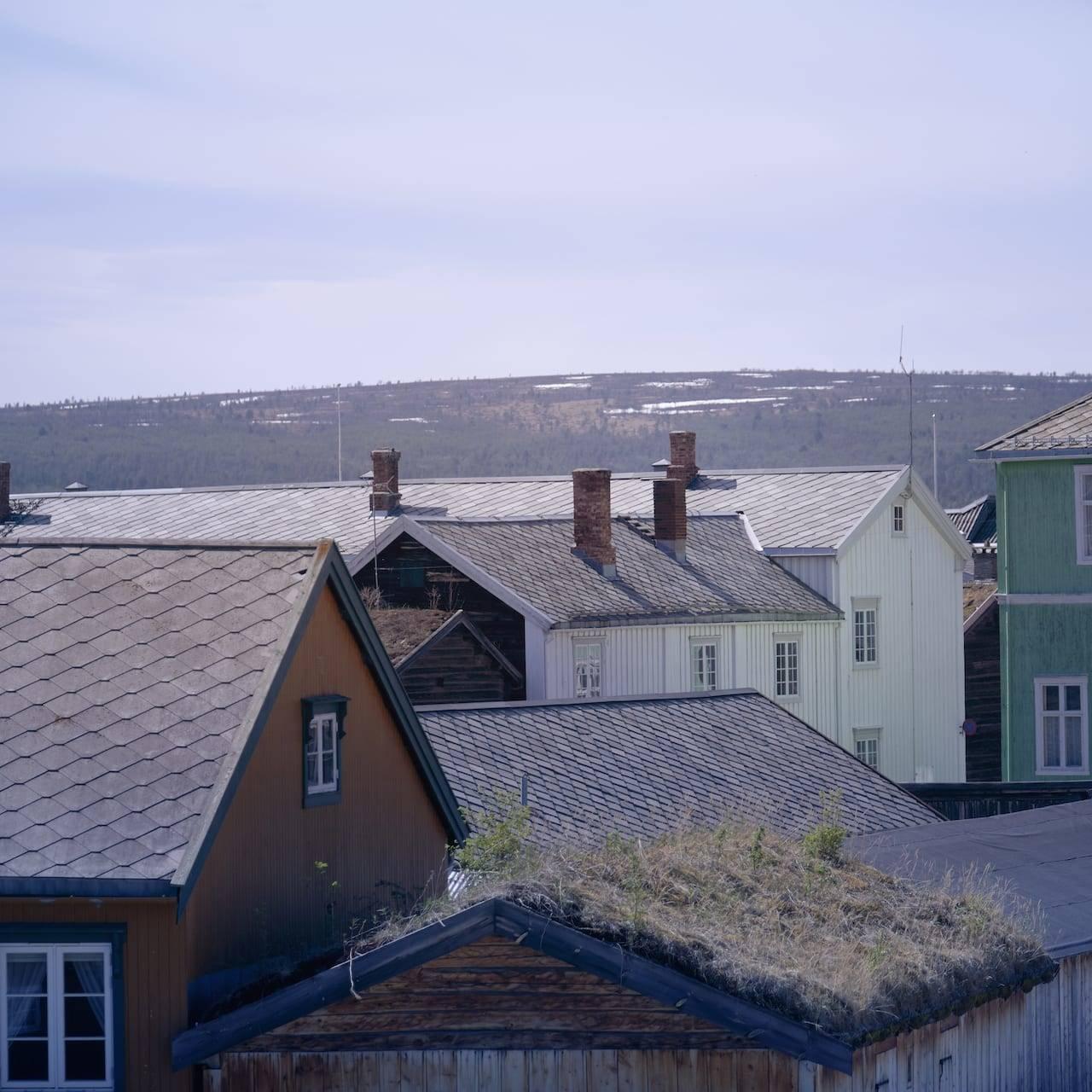 Hus på Røros. Foto: Tom Gustavsen