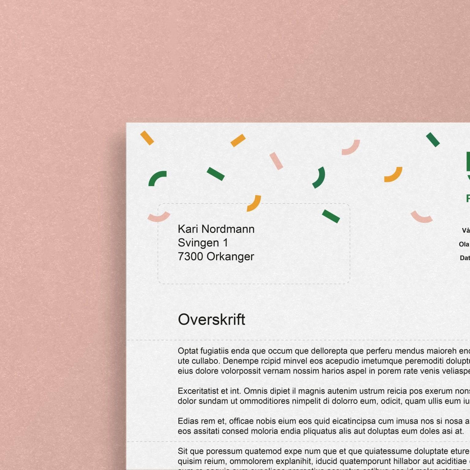 ReMidt brevmal
