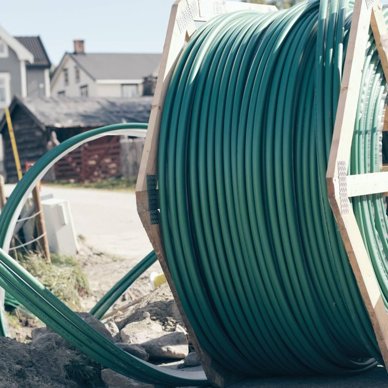 Stadig flere i regionen vår får fiberbredbånd. Foto: Tom Gustavsen