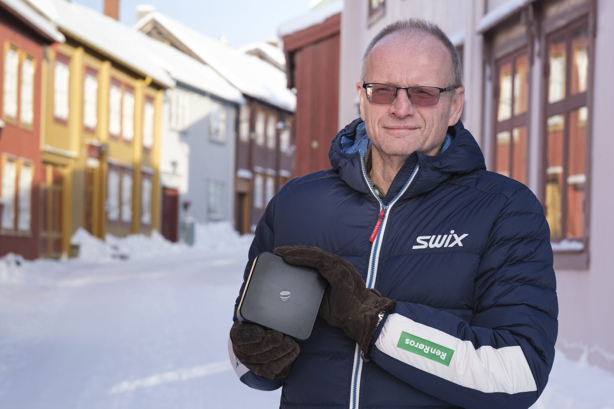Arne Horten i Ren Røros Digital. Foto: Ren Røros Frontal.