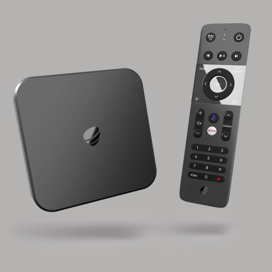 Telia Box med fjernkontroll