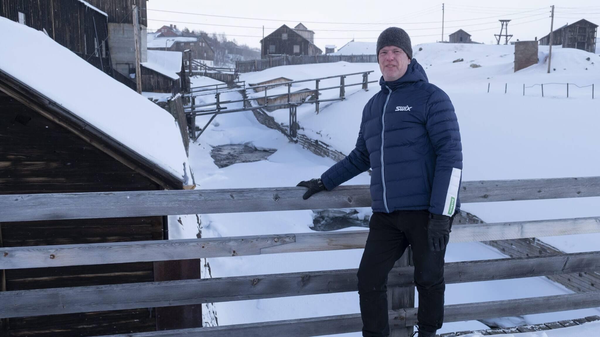 Olav Vehusheia, daglig leder i Ren Røros Strøm, er overbevist om at selskapets mange kunder på Røros setter pris på åpenhet og konkurransedyktige priser. Foto: Kurt Näslund/Ren Røros Frontal