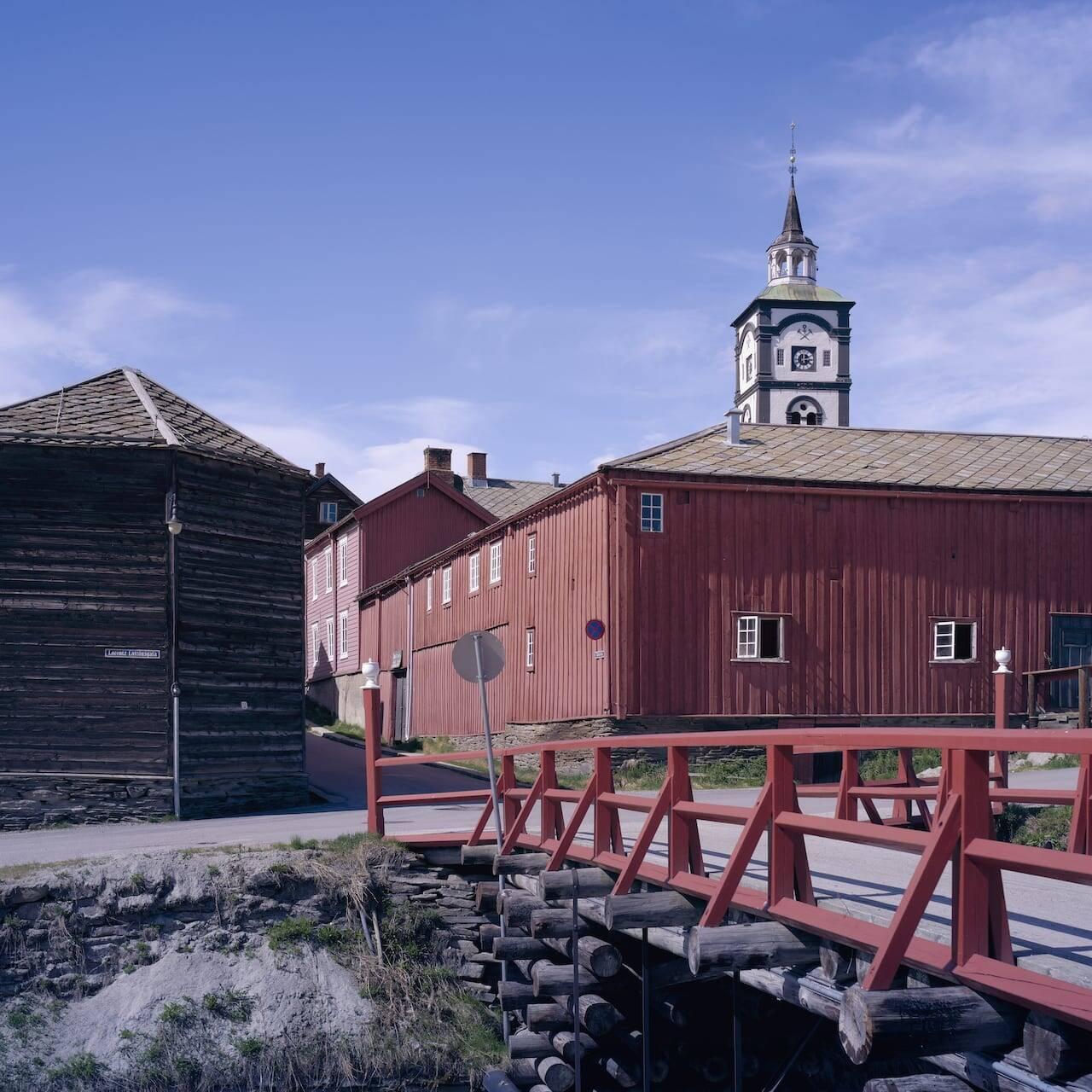 Røros og Raubrua. Foto: Tom Gustavsen