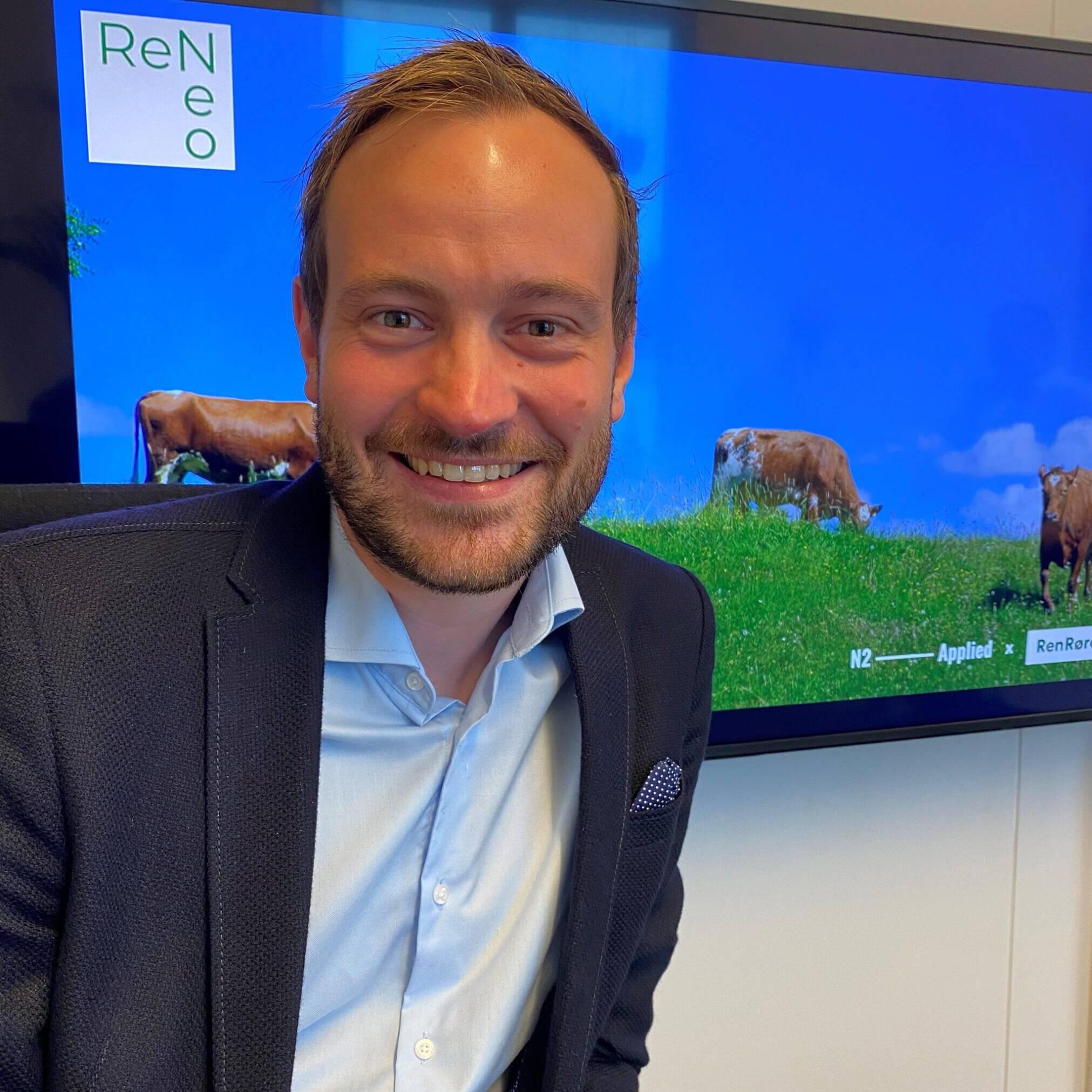 Gulrot: Sivert Bjørnstad, toppkandidat for Frp, er svært positiv til et prosjekt som er mer gulrot enn pisk.