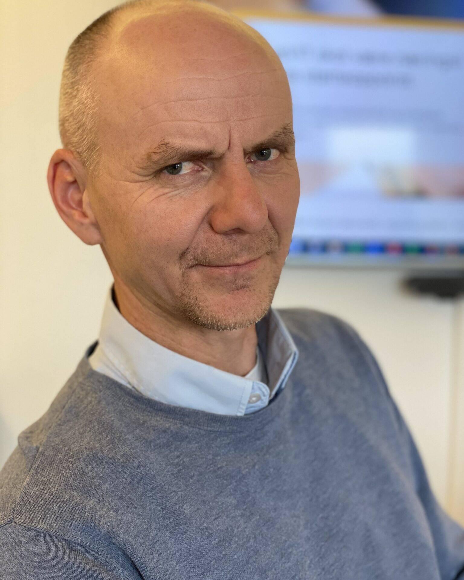 Sikker: Når det gjelder sikkerhet skal vi ikke tro, vi må være sikre og vite, sier Sven Helge Alme i TheVit. Foto: Torgeir Anda/Ren Røros